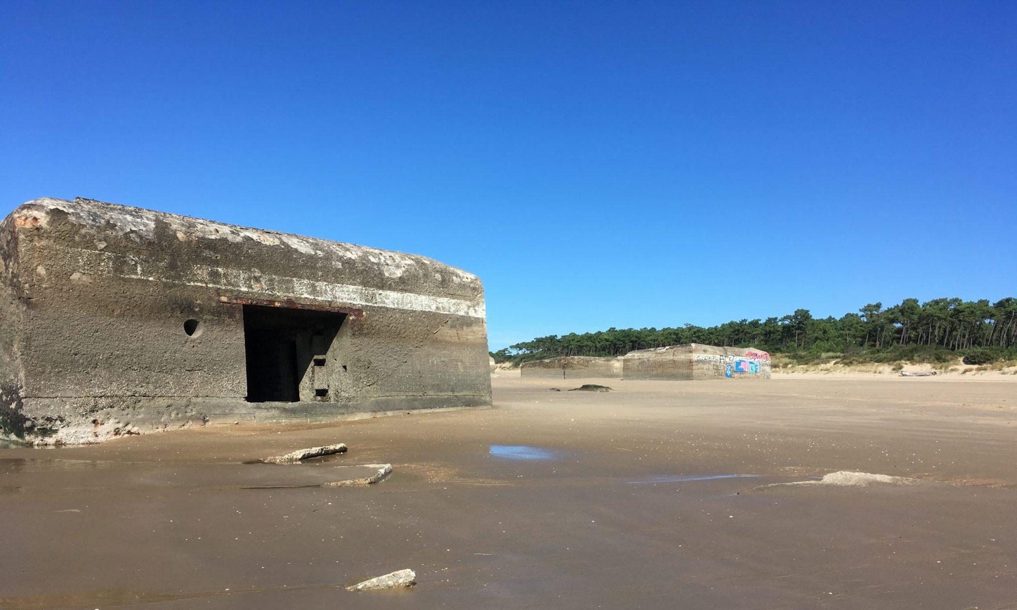 À la découverte des blockhaus de Saint-Palais-sur-Mer